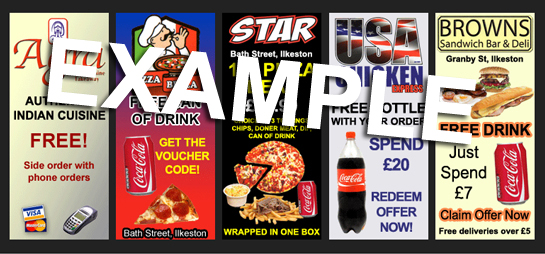 Stapleford Fast Food Advert Example