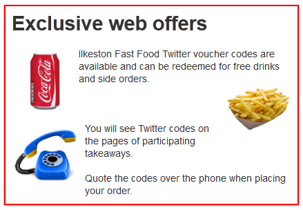 Stapleford Fast Food Offers